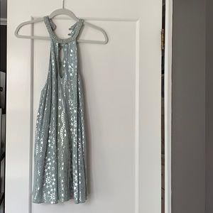 Kimchi Blue Corellia Beaded Neck Mini Dress